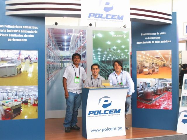 POLCEM took part in Expoalimentaria 2013