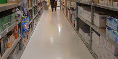 Commercial Stores Cement Floors