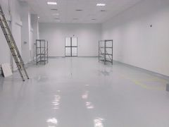 New Storehouse Floor Coating